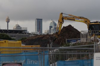 Sydney's entire construction industry has been paused for two weeks due to the delta outbreak, including the multi-billion dollar WestConnex project.