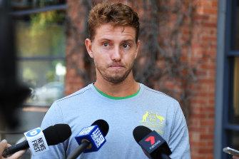 James Duckworth is hopeful of gaining a start for singles in Australia's Davis Cup tie against Brazil in Adelaide.