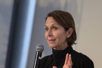 Jayne Hrdlicka, chief executive of Virgin Australia, seen in a file image.