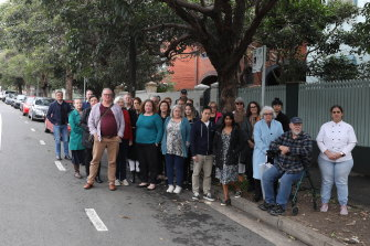 Community members say they were blindsided by plans for a pop-up cycleway on Moore Park Rd in Paddington.