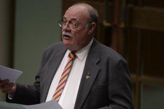 Queensland Coalition MP Warren Entsch.