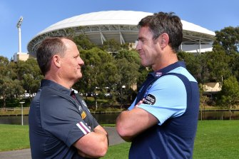 It's on ... Adelaide Oval will be confirmed as the Origin I venue on Tuesday.