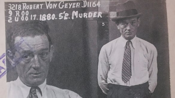 'A blood spot here, smashed window there': Victoria's first crime scene photos