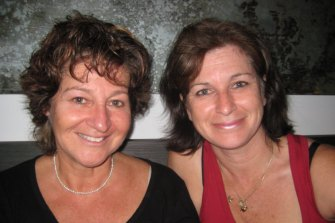 Half-sisters Eve Ash and Micheline first met in January 2008.
