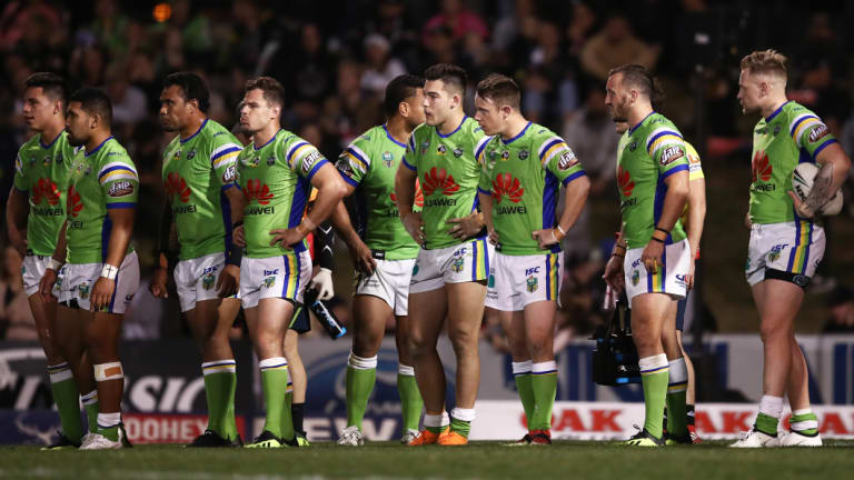 Canberra players lament another one that got away - letting leads slip was a theme.