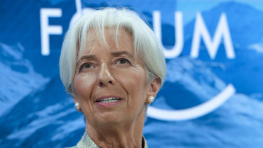 International Monetary Fund managing director Christine Lagarde will succeed Mario Draghi as ECB president on November 1.