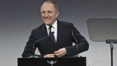 Luxury group Kering CEO Francois-Henri Pinault made the first pledge.