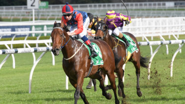 Sir Elton wins with Hugh Bowman aboard. The pair team up again on Saturday.