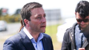 Matthew Guy has promised to remove three level crossings in Pakenham.