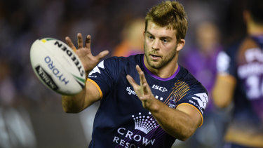 In the mix: Melbourne's Christian Welch could be on the move.