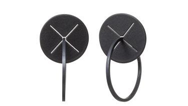 """Emma Jane Donald """"XX"""" earrings."""