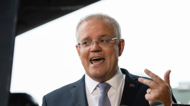 Scott Morrison has raised the spectre of Australia's last recession to warn voters of possible economic dangers ahead.
