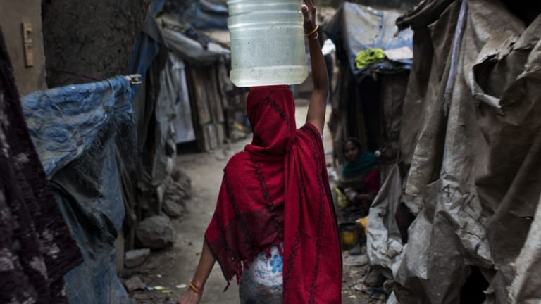 An Indian slum is not a prison for life but a way station.