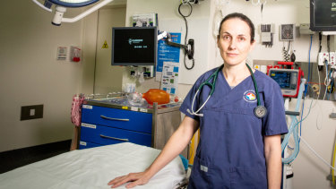 Toxicologist Dr Katherine Isoardi at Princess Alexandra Hospital in Brisbane.
