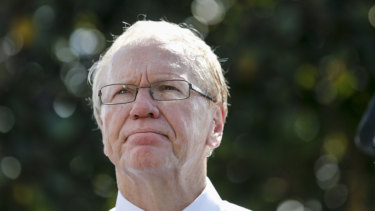 Quiet please ... ARL Commission chairman Peter Beattie is running the game like it's a political party.