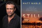 Matt Nable and his new book, Still.