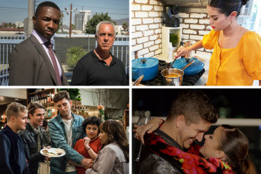 Shows to try if you've watched everything: Bosch, Selena + Chef, Love Is Blind: After the Altar and Search Party.