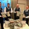 Massive cash seizures in recent days hurt organised crime gangs