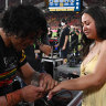 'He's just really nice': To'o fiancée stunned after grand final proposal goes viral