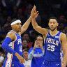 Philadelphia maintain perfect start to NBA season
