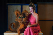 Mezzo Soprano Dimity Shepherd who plays The Queen, and The Cat in Sleeping Beauty
