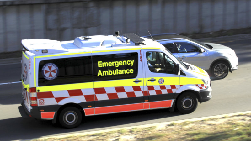 M5 crash: Moorebank off-ramp closed after three-car crash