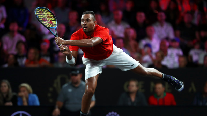 Kyrgios to warm up for Australian Open at Kooyong