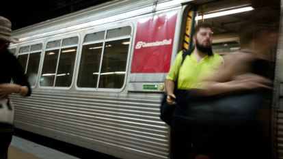This graph shows the exact cost of overtime on Brisbane's trains