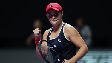 Ashleigh Barty's breakout season has led to a massive windfall in prize money.