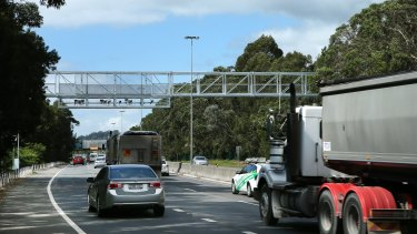 Point-to-point speed cameras only apply to trucks in NSW.