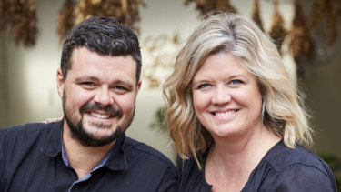 Martin and Melissa Goffin of Red Gum BBQ.