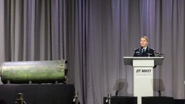 Australian Federal Police Commander Jennifer Hurst.