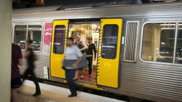 There will be an extra 11 morning train services and 10 extra afternoon train services around the CBD. (File image)
