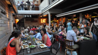 Fortitude Valley's Alfred & Constance has reopened.