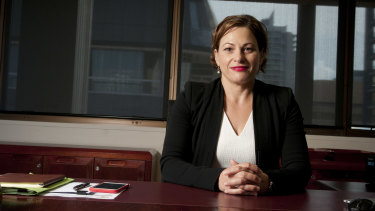 Member for South Brisbane Jackie Trad is facing a strong challenge from the Greens.