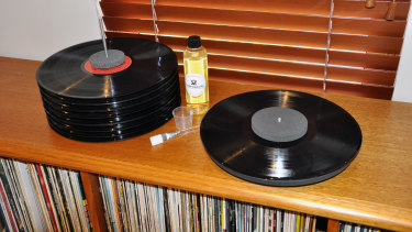 The Vinyl Record Cleaning system is simpler than it looks.