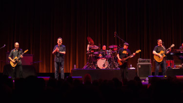 Scotland's the Proclaimers, led by twins Craig and Charlie Reid, had the QPAC crowd on its feet.