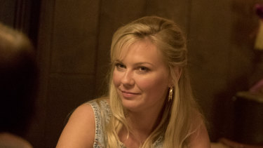 Kirsten Dunst stars as Krystal Stubbs in On Becoming a God in Central Florida.