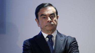Fugitive: Carlos Ghosn, former Nissan chairman.