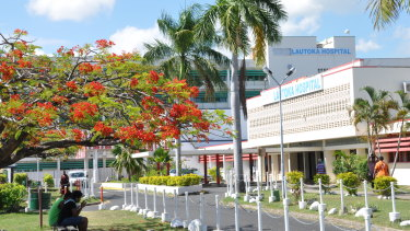 The Lautoka Hospital in Fiji is one of two hospitals managed by Canberra company Aspen Medical under a 23-year partnership the company has entered into with the Fijian government.