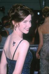 Jacqueline McKenzie at the premiere of 1999's Deep Blue Sea.