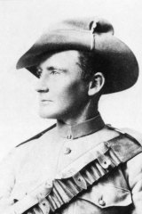 "Australian Private Harry ""Breaker"" Morant, ca. 1900"