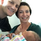Denise and Mat Brajovic's six-day-old son Julian died of a severe enterovirus infection.