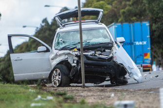 The number of people injured in car crashes is increasing by about 3 per cent a year.