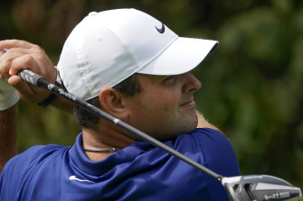 Former Masters champion Patrick Reed is one shot off the lead after a US Open first round boasting a hole in one.