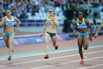 Melissa Breen competed at the London Olympic Games in 2012.
