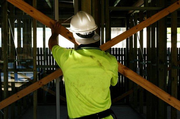 Civil engineering was the biggest area of job vacancies.