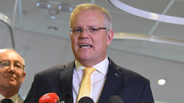 Prime Minister Scott Morrison's recent posturing with Donald Trump and his egotistical reset on foreign policy are putting Australia at risk.