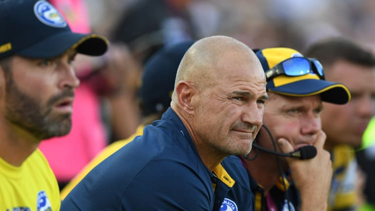 In the dark: Brad Arthur is unclear about his best fullback option.