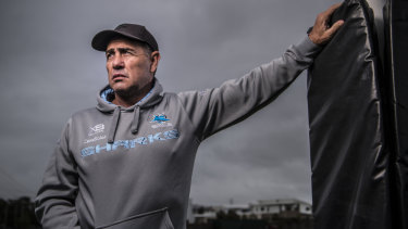 Uncertain future: Sharks coach Shane Flanagan is fighting for his job.